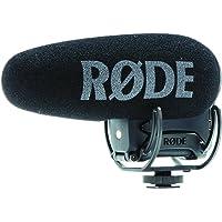 Rode Videomic Pro + Microphone de caméscope avec Fil Noir - Microphones (Microphone de caméscope, -33,6 DB, 20-20000 Hz, Super-cardioïde, 200 Ohm, avec Fil)