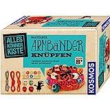 KOSMOS 604158 - AllesKönnerKiste Armbänder knüpfen. DIY-Bastelset für Mädchen und Jungen ab 8 Jahren, das ideale…