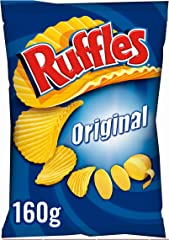 Ruffles Original Patatas Fritas con Sal, 160g
