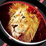 Fonds d'écran en direct - Fiery Lion