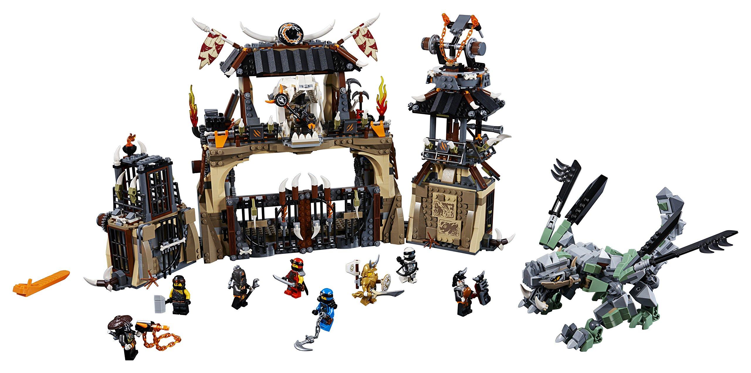 LEGO- Ninjago Includes Master, Jay, Zane, Cole, Kai, Iron Baron, Arkade, Heavy Metal And Chew Toy Minifigures La Fossa… 2 spesavip