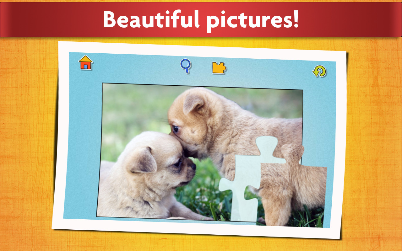 Cute Dog and Puppy Puzzles for Kids - Free Trial Edition ...