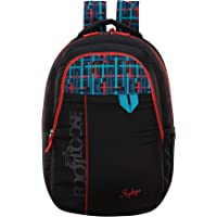 Skybags Quno 27 Ltrs Black Casual Backpack