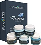 professional feel Fiona Lotus Diamond Radiant Skin Instant Glow Beauty Parlour Fairness Facial Kit Pro Active, All Type…