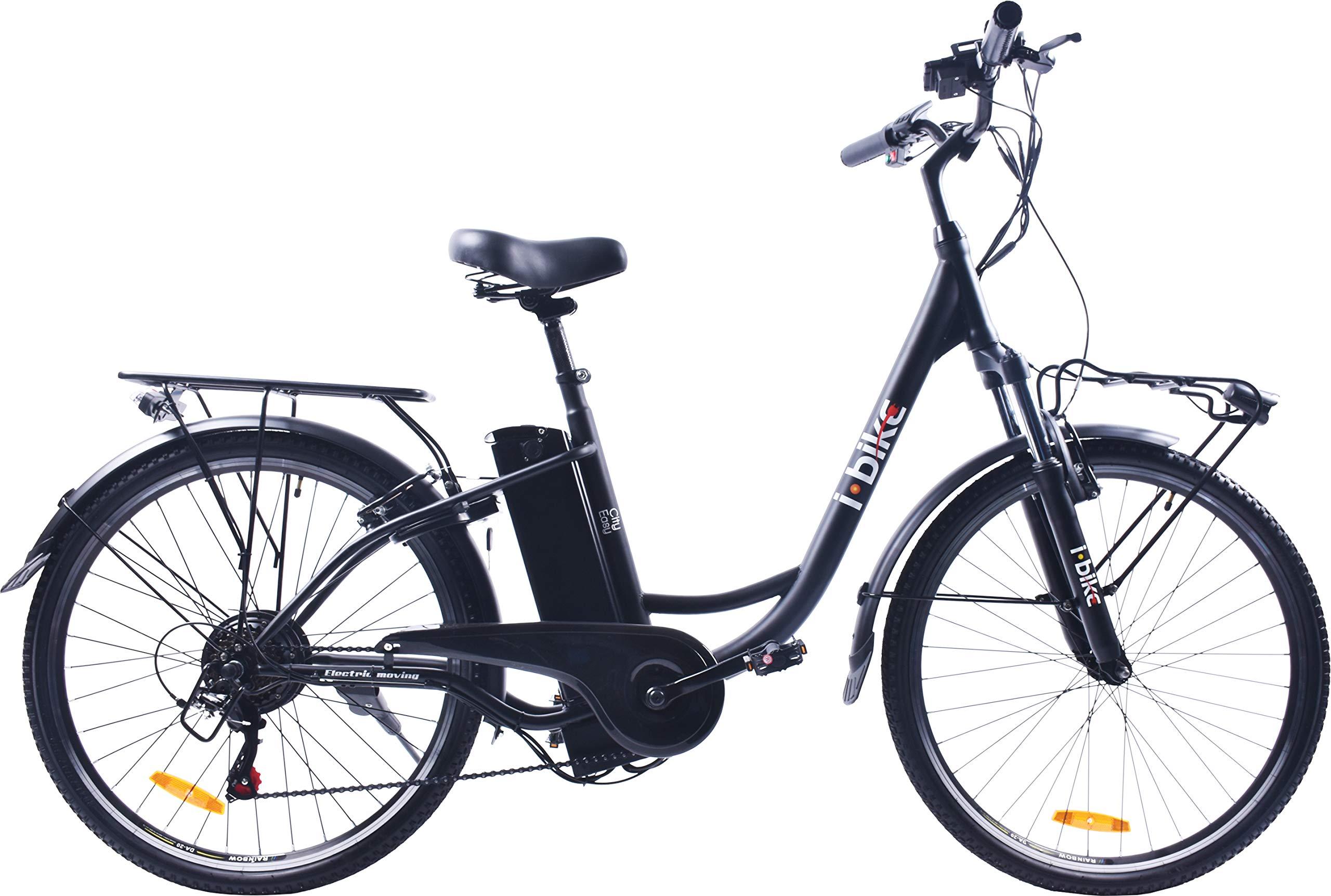 I Bike City Easy Bicicletta Elettrica Unisex Adulto Nero 180 X