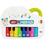 Fisher-Price Mon Piano Rigolo, jouet interactif musical et lumineux avec modes de jeu apprentissage et musique, pour bébé dès