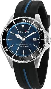 Sector No Limits Orologio Analogico Quarzo Uomo con Cinturino in Silicone R3251161037