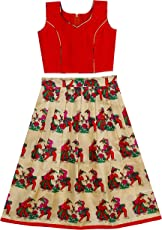 J.AnanD Baby Girl's Traditional Readymade Party Wear Lehenga Choli (4 Years to 14 Years Old)