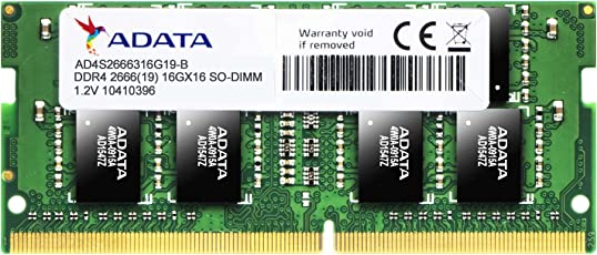 A-DATA Premier 8GB DDR4 2666 PC4 21300 Laptop RAM