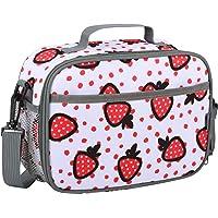 Momcozy Kühltasche Klein für Kinder mit Schulterriemen, Erdbeere Mini Thermocase kinder, Thermo Lunchbox Lunchtasche…