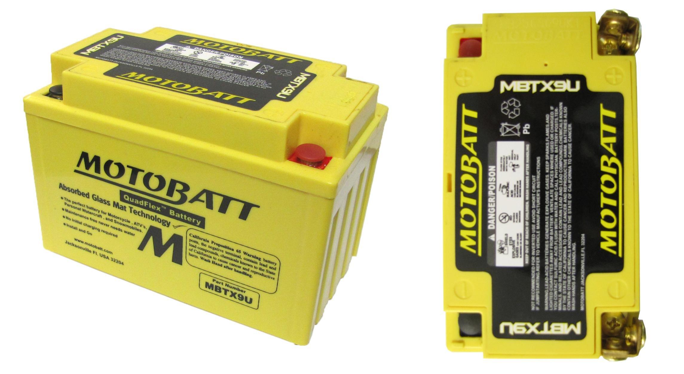 Honda VFR 1200 FC MBTX9U batteria moto 2012