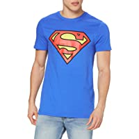 DC Comics Superman Logo T-Shirt Uomo