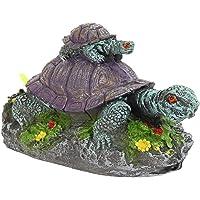 AQUAPETZWORLD Aquarium Fish Tank Underwater Landscaping Resin Artificial Tortoise Turtle Animal Decorations Ornaments…