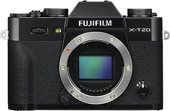 Fujifilm X-T20 Systemkamera mit Gehäuse (Touch LCD 7,6cm (2,99 Zoll) Display, 24,3 Megapixel APS-C X-Trans CMOS III Sensor) schwarz