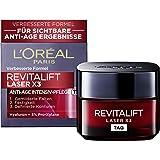 L'Oréal Paris Dagvård, Revitalift Laser X3, anti-aging ansiktsvård med trefaldig effekt, med hyaluronsyra, 50 ml