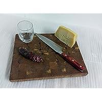 TAGLIERE MASSELLO Handmade, fatto a amano in Legno di Cerro
