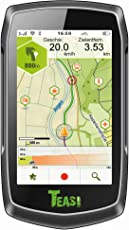 Teasi one³ - Outdoor-Ski & Snowboard Navigation/Navigationsgerät mit Bluetooth und Europakarte