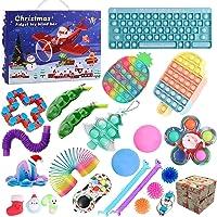 2021 Christmas Countdown Adventskalender Figetsss Spielzeug-Sets,Fidget Spielzeug Set,für Zuhause, Schule, Büro, Party…