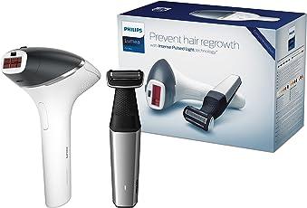 Philips IPL Haarentfernungssystem Lumea for Men BG9040/04 (für langanhaltende Haarentfernung, inklusive Bodygroomer)