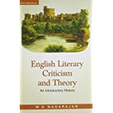 English Literary Criticism and Theory: An Introductory History