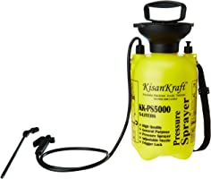 Kisan Kraft KK-PS5000 5-Litre Plastic Manual Sprayer (Color May Vary)