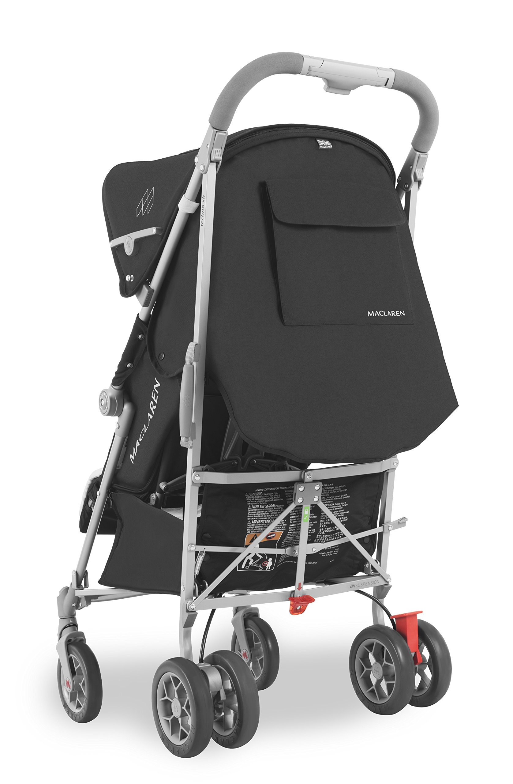 Maclaren Techno XLR arc Travel System Stroller Maclaren Basic weight of 6.7kg/14.8lb; ideal for new-borns and children up to 25kg/55lb (usa 65lb) Maclaren is the only brand to offer a sovereign lifetime warranty Extendable upf 50+ sun canopy and built-in sun visor 3
