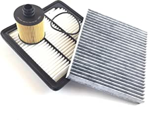 Filter Set Ölfilter Luftfilter Aktivkohlefilter Fiat Freemont 345 Jc 2 0 Jtd Auto