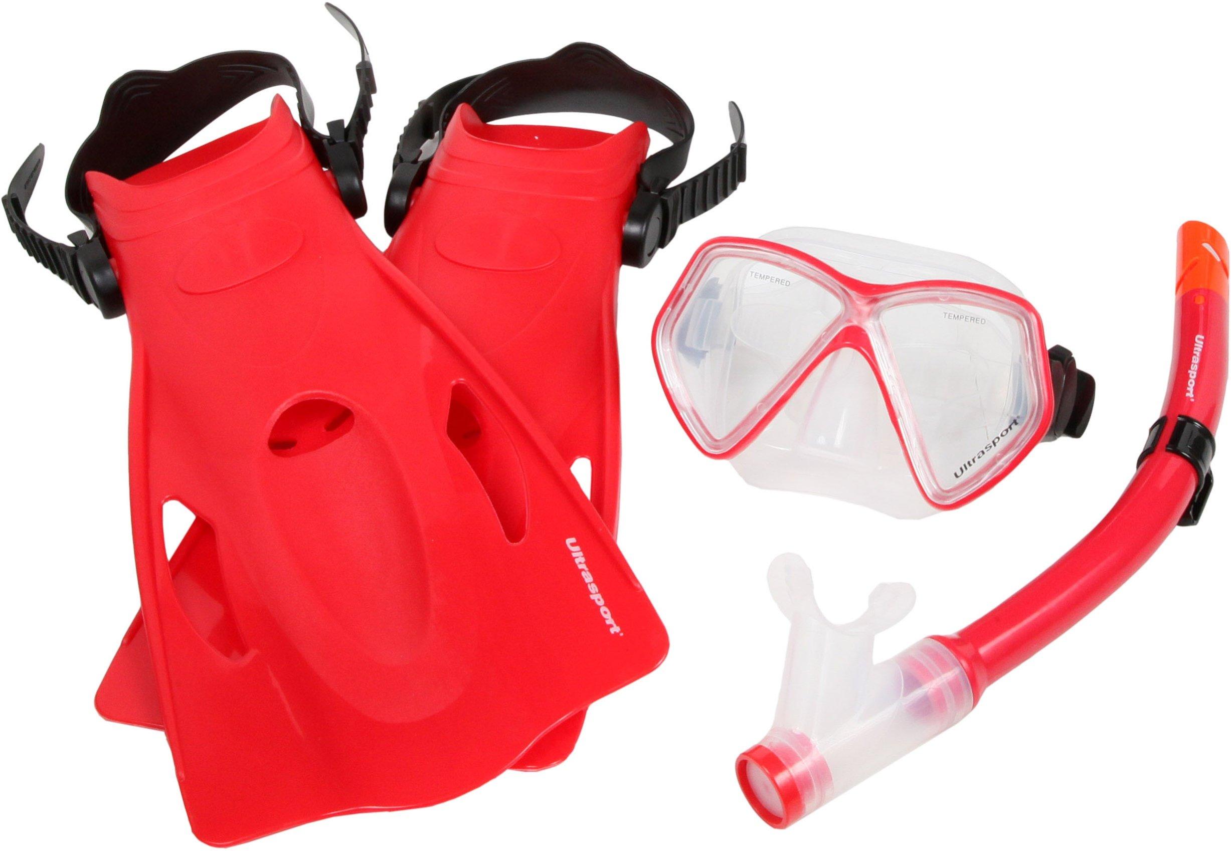Ultrasport Miami – Set de snorkel, color azul