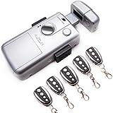 KENROD Onzichtbaar Smart Lock | Lock 5 bedieningselementen | Antidumping Lock | Elektronisch slot met afstandsbediening Binne