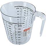 Zenker 008811 Verre doseur, verre mesureur, verre doseur pâtisserie, cruche graduée, Plastique, Transparent, 17 x 15,5 x 11,7