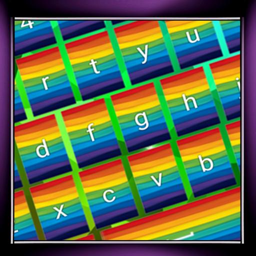 Regenbogen-Tastaturen