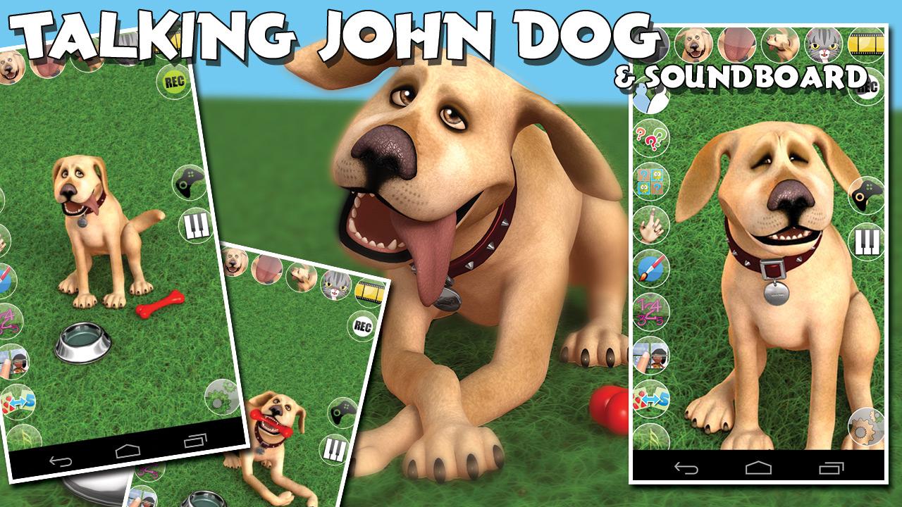 Zoom IMG-2 talking john dog free