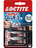 Superglue - 1858125 - 3 Gel Power Flex - Mini Trio Doses 3 x 1 gr