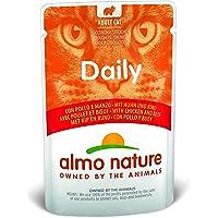 Almo Nature - Cibo per gatti giornaliero con pollo e manzo, 70 g, confezione da 30