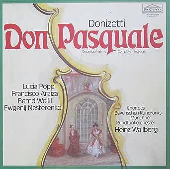donizetti don pasquale gesamtaufnahme in italienischer sprache vinyl schallplatte 2 lp box