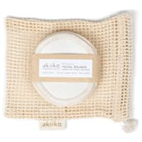 akiiko Reusable Cotton Pads/Makeup Removal Pads (Pack of 6)