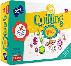 Handy Crafts Quilling Jewellery, Multi Color