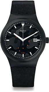 Armband Automatik Mit Analog Swatch Sutw404 Silikon Herren Uhr He2bEYD9WI