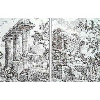 Decoupage Decopatch Papier Bogen rosa Blumen im Gitter als Motiv 48x68