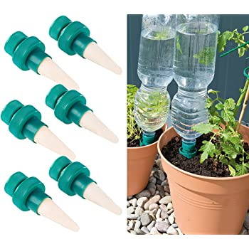 bio green pflanzen bew sserung wine tonkegel terracotta gr n f r wein flaschen garten. Black Bedroom Furniture Sets. Home Design Ideas