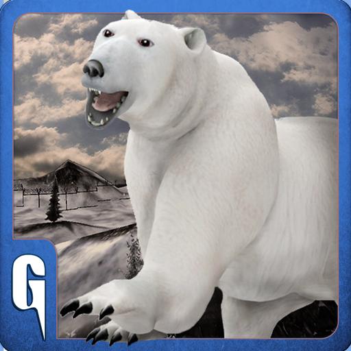 Grizzly Bear Tier - Wilder Eisbär 3D Sim
