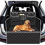 Alfheim kofferbakbeschermer voor hond, scheurvast en waterdicht, antislip wasbare achterbankhoes voor honden met zijbeschermi