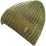 Decentron Classic Men's Warm Winter Hats Thick Knit Long Cuff Beanie Cap with Lining