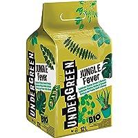 Undergreen JUNGLE Fever, Terriccio per Piante Verdi e Bonsai, Consentito in Agricoltura Biologica, 12 l