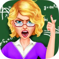 Crazy Mad Teacher - School Classroom Trouble Maker
