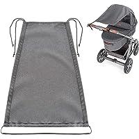 Zamboo Universal Sonnensegel DELUXE für Kinderwagen Babywanne - reißfester Sonnenschutz mit UV Schutz Beschichtung 50…