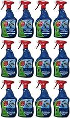 Bayer Blattanex Ungeziefer & Ameisen Spezial Pump-Spray Gardopia Sparpakete + Zeckenzange mit Lupe