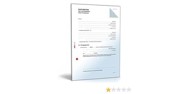 Kaufvertrag Küche - Vertrag Zum Verkauf Einer Einbauküche Unter