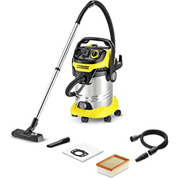 Karcher WD 6 P Wet and Dry Multi-purpose Vacuum Cleaner (Yellow and Black, 1.348-270.0)