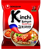 Nongshim Noodle Soup Kimchi Korean Style Instant Noodles - Pack of 5